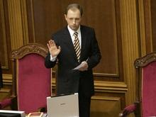 Яценюк не может дождаться постановления о своей отставке