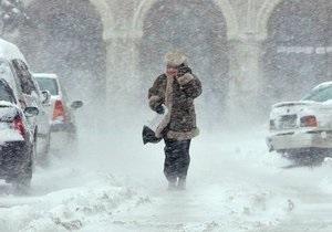 Сильный снегопад привел к хаосу в Словакии