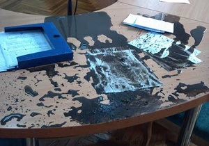 В Нежине на заседании горсовета на мэра вылили ведро грязи