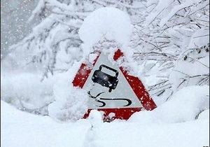 В ГАИ сообщили, на каких автодорогах ограничено движение из-за погодных условий
