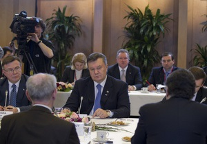 Янукович дал лидерам ЕС ряд сигналов о готовности исправить ситуацию с Тимошенко и Луценко - Ъ