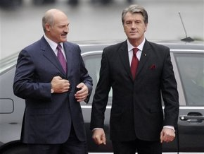 Лукашенко: Если кому-то не нравится, что мы с Ющенко встречаемся, это его проблемы