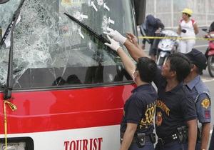 Штурм автобуса на Филиппинах: от должности отстранены  четверо полицейских