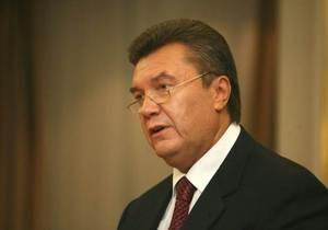 Янукович призывает глав стран-членов СНГ ускорить процесс подписания Договора о создании ЗСТ