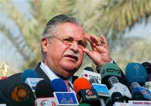 Иракские курды выдвинут в президенты Талабани
