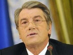 Ющенко: Мы не будем принимать участия в захватнических войнах