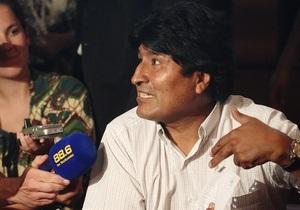 Президент Боливии угрожает закрыть посольство США