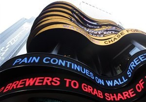 Индекс Dow Jones вернулся к уровню накануне краха Lehman Brothers