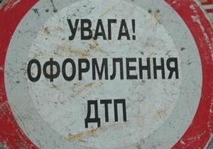 В Киеве маршрутка столкнулась с двумя авто
