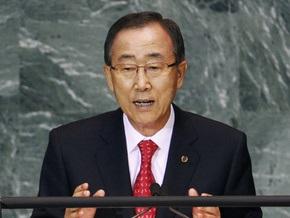 Генсек ООН: Через десять лет изменения климата станут необратимыми