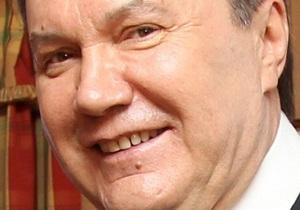 Янукович: Это так прекрасно - быть влюбленным