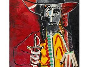 Мужчина со шпагой Пикассо продан на Sotheby s за 7 млн фунтов