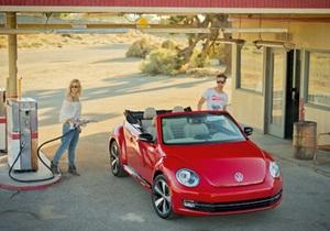 Volkswagen показал, каким будет кабриолет Beetle