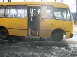 Новости Киева - маршрутка - пожар - В Киеве горела маршрутка