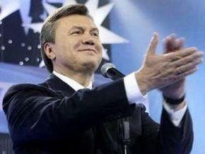 Янукович выступает за сотрудничество ПР с Единой Россией
