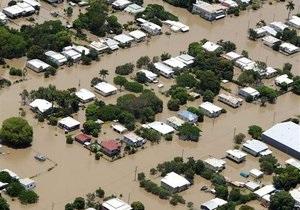 Австралийцев предупредили о нашествии змей и крокодилов из-за наводнения