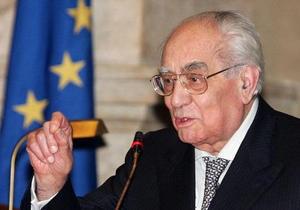 Умер основатель Итальянской республики