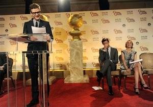 Названы номинанты на премию Золотой глобус