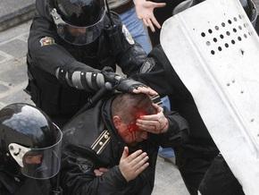 В результате беспорядков в Кишиневе пострадали около ста человек