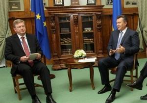 Ъ: Евросоюз может остановить процесс сближения с Украиной