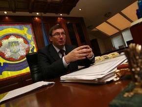 Луценко: Народ дает деньги милиции не за проценты, а за задержание конкретных преступников