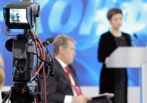 Прокуратура поставила точку в скандале со срывом трансляции выступления Ющенко в Полтаве