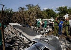 Найдены черные ящики разбившегося на Кубе самолета