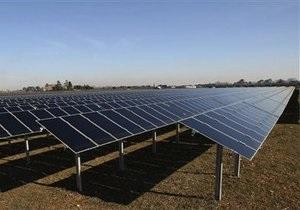 Солнечная энергетика - Украина вдвое нарастила мощность солнечных электростанций