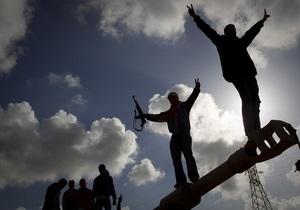 Ливийские повстанцы в Мисрате призвали Запад направить им на помощь войска