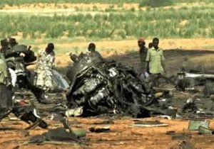 Крушение Ан-12 в Судане: 15 погибших
