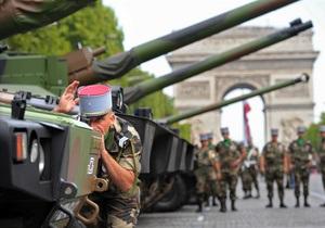 Французы празднуют День взятия Бастилии