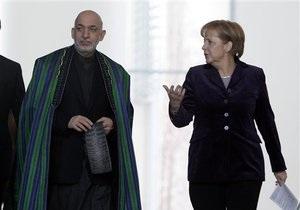 Меркель отказалась назвать дату вывода войск коалиции из Афганистана