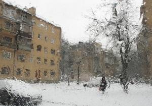 В Украине холодает. На дорогах ожидается гололедица