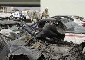 При взрывах в Ираке пострадало 100 человек