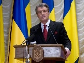 Ющенко вручил Шевченковские премии