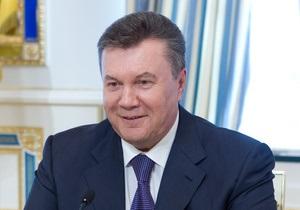 Янукович уволил ряд глав райадминистраций