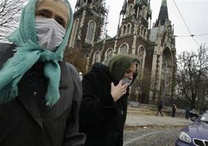 В Киеве уровень заболеваемости гриппом ниже эпидемического порога на 0,5%