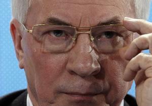Азаров отверг обвинения в имитации реформ