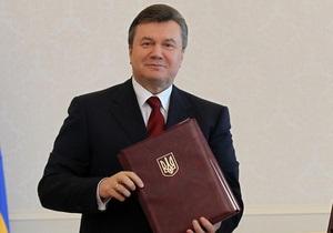 Украинские журналисты назвали Януковича  врагом прессы №1 в 2010 году
