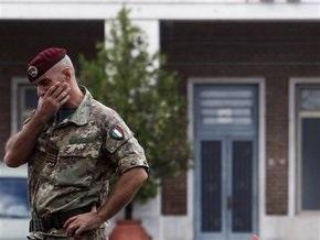 Берлускони: Италия намерена вывести войска из Афганистана