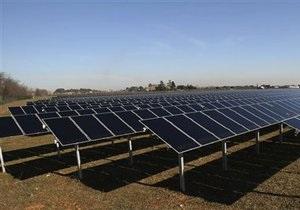 В Крыму начали строить солнечную электростанцию мощностью 500 МВт