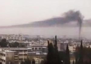 Армия Сирии начала мощный обстрел оплота повстанцев
