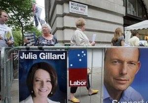 В Австралии начались всеобщие выборы