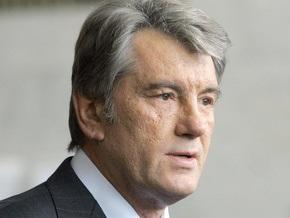 Ющенко примет участие в церемонии прощания с Загребельным