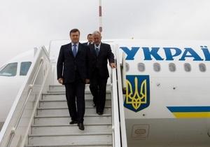 Янукович все-таки вылетел во Вроцлав