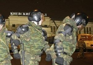 На площади Киевского вокзала задержали лидера радикальной организации