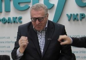 Жириновский в Киеве