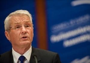 Генсек Совета Европы: События в Украине развиваются в вопиюще неправильном направлении