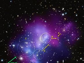 Астрономы зафиксировали самое гигантское  ДТП  во Вселенной