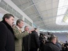 Евро-2012: Ющенко покажет Платини Днепропетровск